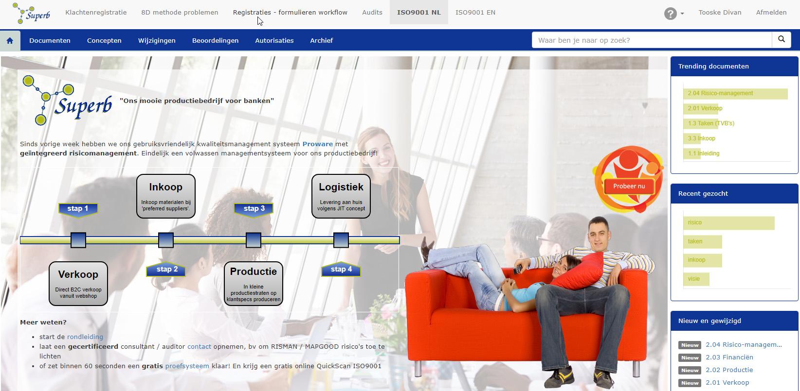 concept Metaware managementsysteem